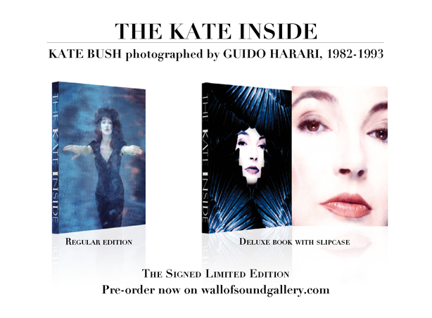 THE KATE INSIDE. L'EDIZIONE LIMITATA FIRMATA<br>KATE BUSH fotografata da GUIDO HARARI, 1982-1993