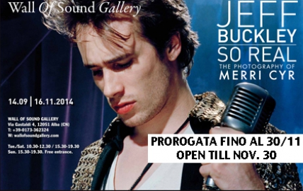 JEFF BUCKLEY. SO REAL. THE PHOTOGRAPHY OF MERRI CYR