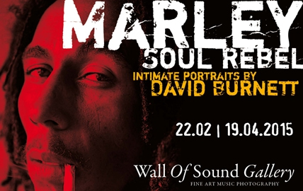 BOB MARLEY. SOUL REBEL. INTIMATE PORTRAITS BY DAVID BURNETT