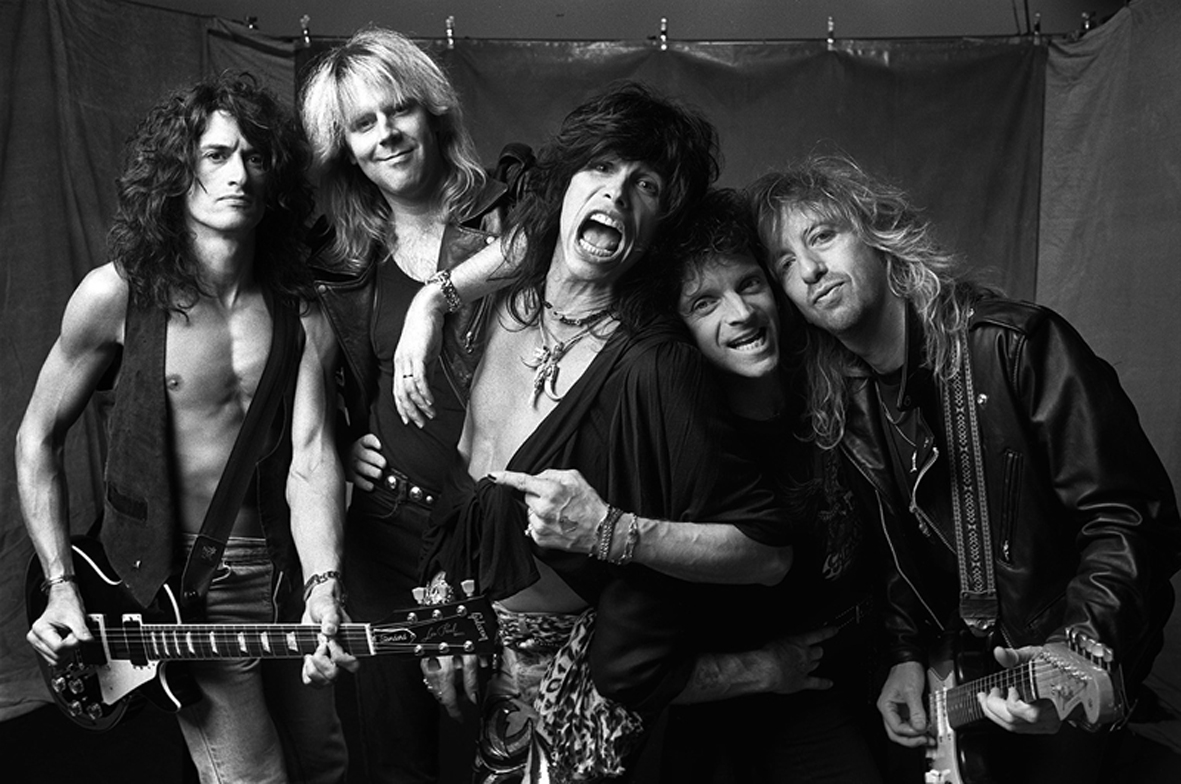 Aerosmith By Norman Seeff Aerosmith Los Angeles 1988