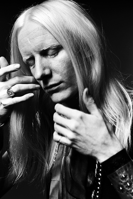 JOHNNY WINTER by NORMAN SEEFF