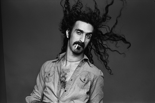 FRANK ZAPPA by NORMAN SEEFF