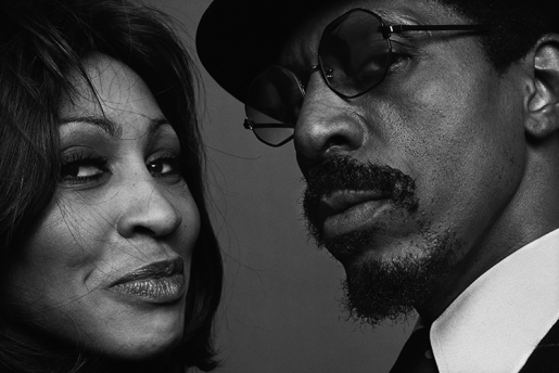 IKE & TINA TURNER by NORMAN SEEFF