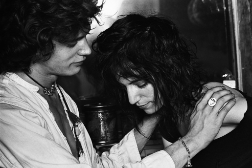 PATTI SMITH & ROBERT MAPPLETHORPE by NORMAN SEEFF