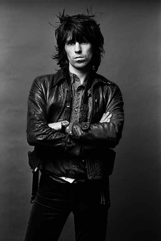 KEITH RICHARDS by NORMAN SEEFF