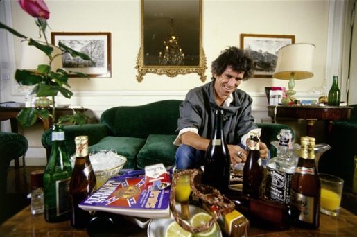KEITH RICHARDS by LUCIANO VITI