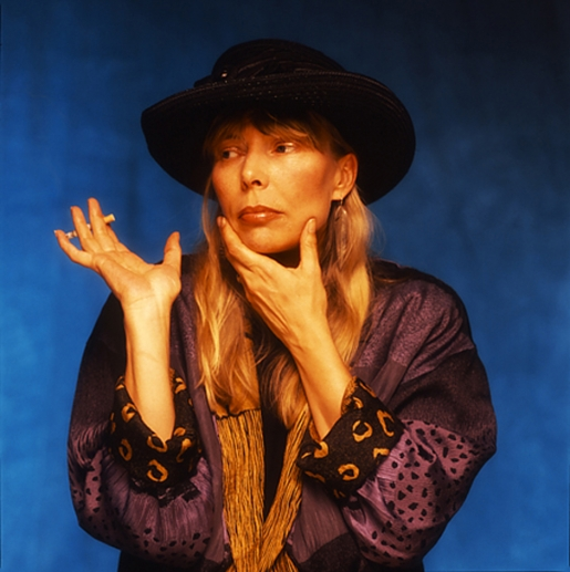 JONI MITCHELL by GUIDO HARARI