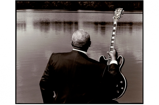 B.B. KING by KEVIN WESTENBERG