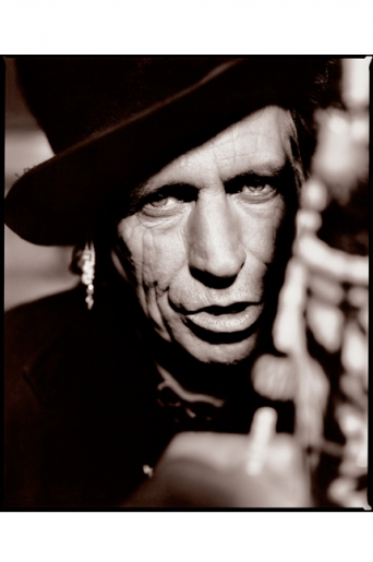 KEITH RICHARDS by KEVIN WESTENBERG