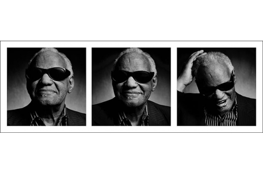 RAY CHARLES by LUCIANO VITI