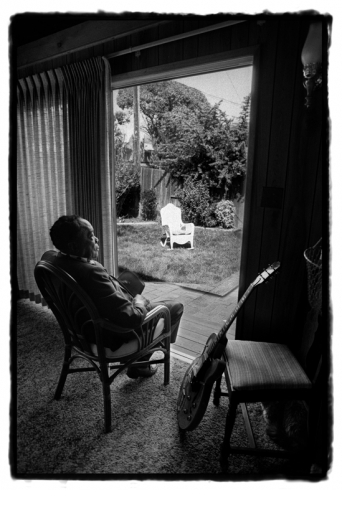 JOHN LEE HOOKER by GUIDO HARARI