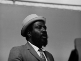 THELONIOUS MONK, Newport Jazz Festival, 1965.  by JOE ALPER
