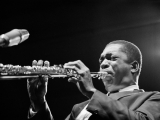 JOHN COLTRANE, Newport Jazz Festival, 1965. by JOE ALPER