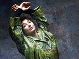 KATE BUSH, GREEN, Londra, 1989 by GUIDO HARARI