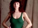 Kate BUSH, Kate in green leotard, 1978 by GERED MANKOWITZ