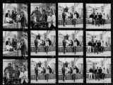 The ROLLING STONES, Caged contact sheet, 1965 by GERED MANKOWITZ