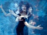 KAte Bush, UNDERWATER TRIPTYC, London, 1989 by GUIDO HARARI