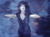 KAte Bush, UNDERWATER, London, 1989 by GUIDO HARARI