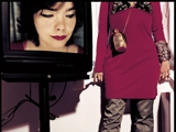 BJORK, NEW YORK, 1998 by KEVIN WESTENBERG