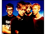 BLUR, LONDON, 1995. by KEVIN WESTENBERG