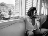 BOB MARLEY, TUFF GONG, KINGSTON, 1976. by DAVID BURNETT