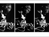 B.B. KING, ROMA, 1992. TRIPTYCH by LUCIANO VITI
