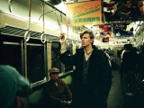 DAVID BOWIE, A Day In Kyoto 2 - Hankyu Train, 1980 by MASAYOSHI SUKITA