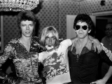 Bowie, Iggy, Lou, Dorchester Hotel, Londra, 1972 by MICK ROCK