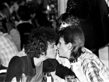 Lou Reed, Bowie, Kiss, Cafe Royal, Londra, 1973 by MICK ROCK