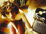 Syd Barrett With Record Player, Londra, 1969 by MICK ROCK